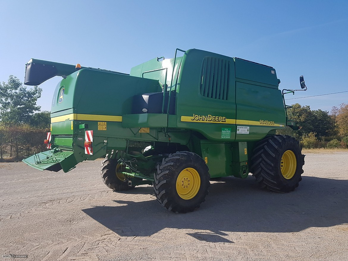 moissonneuse batteuse JOHN Deere 9640 WTS