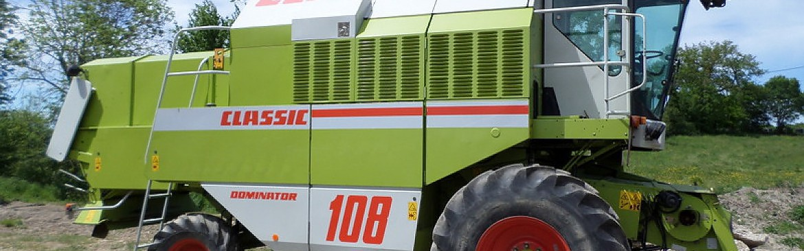 MOISSONNEUSE BATTEUSE CLAAS DOMINATOR CLASSIC 108