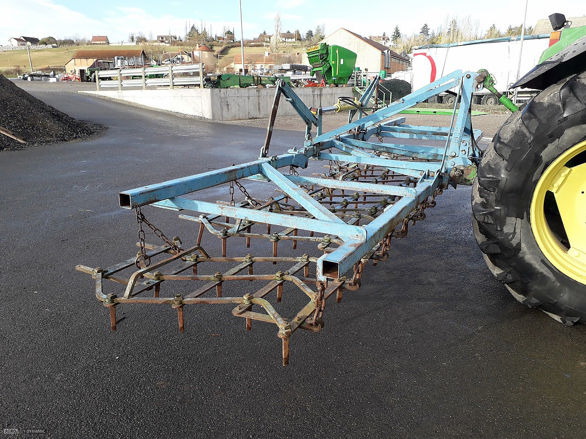 HERSE PLATE 6 M REPLIAGE HYDRAULIQUE