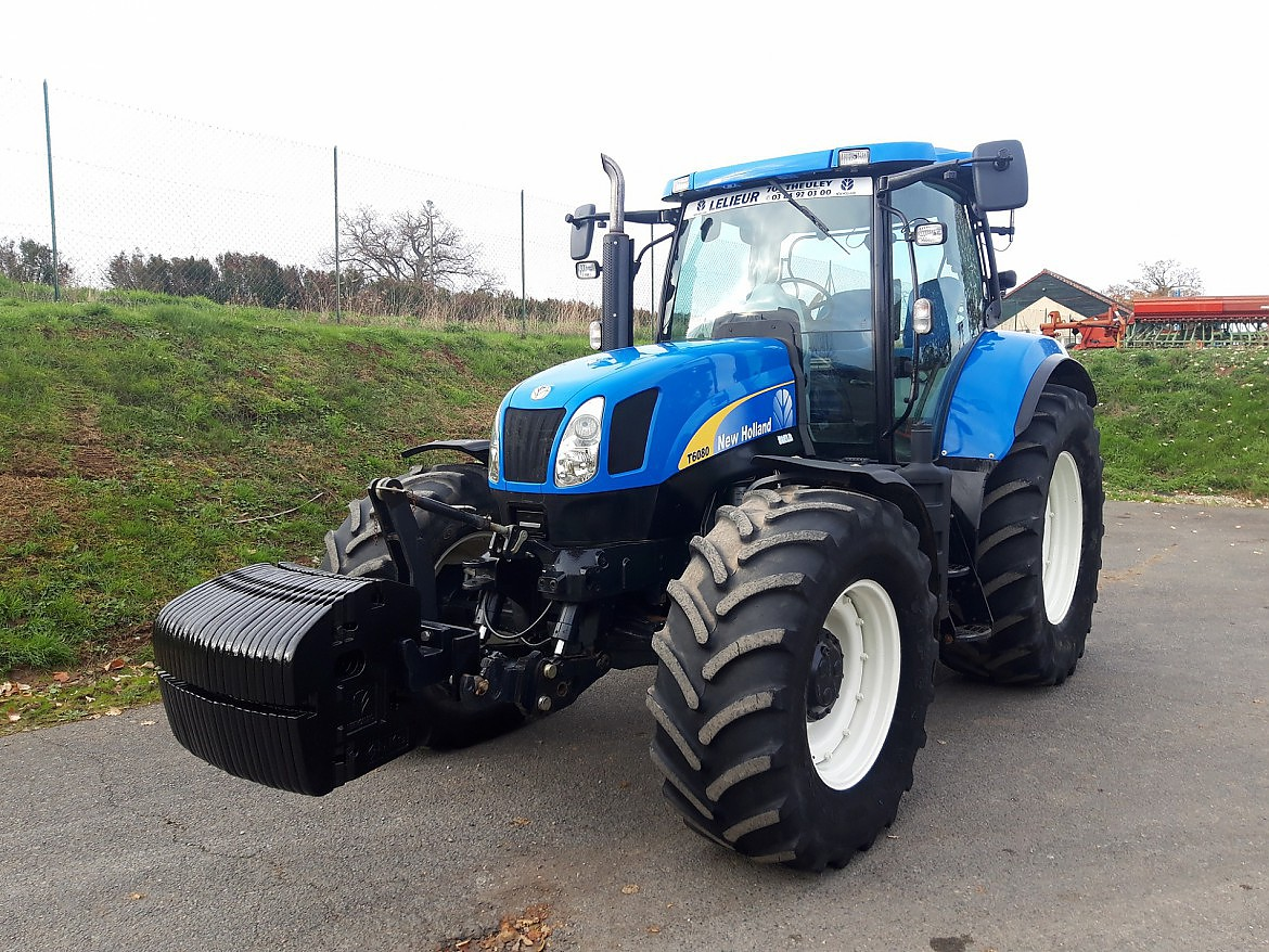 TRACTEUR NEW HOLLAND T6080